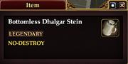 Bottomless Dhlgar Stein