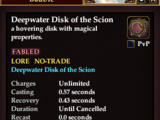 Deepwater Disk of the Scion (Mount)
