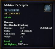 Matriarch's Scepter