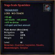 Naga Scale Spaulders