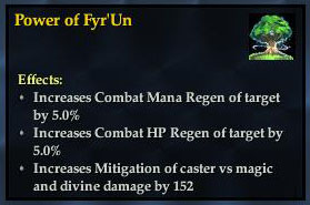 Power of fyr'un