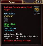 Resilient Grandmaster's Hand Wraps