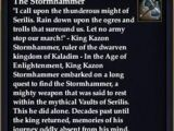 The Stormhammer (Weapon)