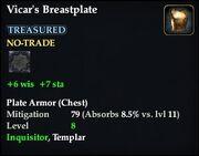 Vicar's Breastplate