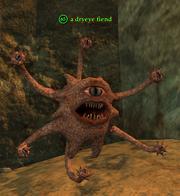 A dryeye fiend
