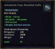 Arborhide Gem Studded Cuffs