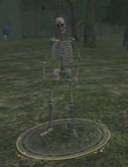 Cackling cadaver