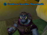 Crushbone Expedition Weaponsmith