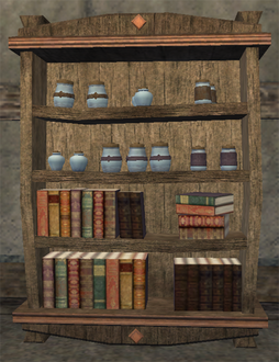 Potion Cabinet Sales Display Placed