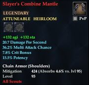 Slayer's Combine Mantle
