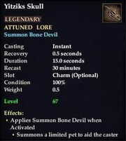 Yitziks Skull (Version 1)