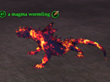 A magma wormling