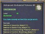 Advanced Alchemist Volume 40