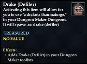 Drake (Defiler)