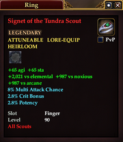 Signet of the Tundra Scout