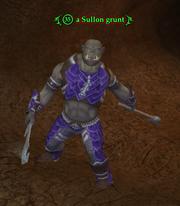 A Sullon grunt