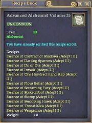 Advanced Alchemist Volume 33