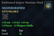Fashioned Jasper Noxious Stud