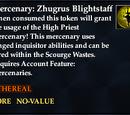 Mercenary: Zhugrus Blightstrike