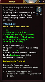Plain Shoulderpads of the Far Seas Traders