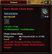 Seer's Rustic Chain Boots