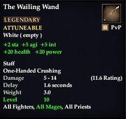 The Wailing Wand