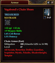Vagabond's Chain Shoes