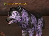 A corrupted Drakkel alpha