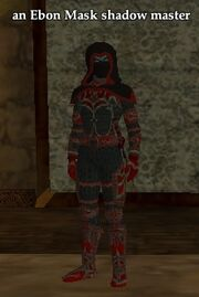 An Ebon Mask shadow master