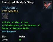 Energized Healer's Strap