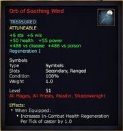 Orb of Soothing Wind