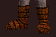 Prophet's Chain Boots (Equipped)
