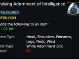 Pulsing Adornment of Intelligence
