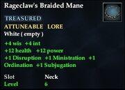 Rageclaw's Braided Mane