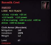 Runesilk Cowl