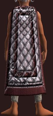 Snowfang Defender's Cloak (Equipped)