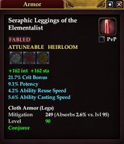 Seraphic Leggings of the Elementalist