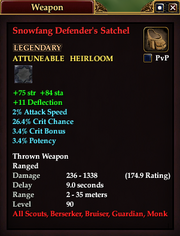 Snowfang Defender's Satchel