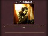 Cleric Sararah
