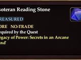 Esoteran Reading Stone