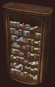 Full Highhold Bookcase (Visible)
