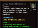Indigo Boots of the Far Seas Traders