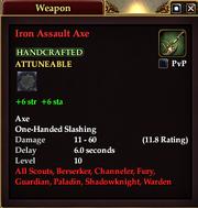 Iron Assault Axe