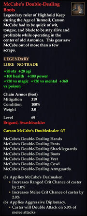McCabe's Double-Dealing Boots