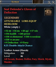 Seal Defender's Gloves of Deflection