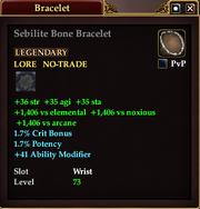 Sebilite Bone Bracelet