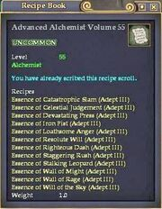 Advanced Alchemist Volume 55
