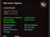Belt of the Vigilant
