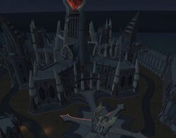 Freeport T3 guild hall at night