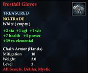 Frostfall Gloves